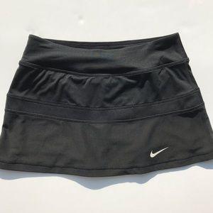 Nike court tennis skirt black